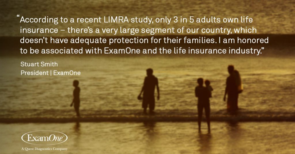 Only 3 in 5 adults own life insurance.