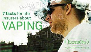 vaping life insrance