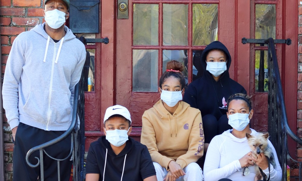 face mask family